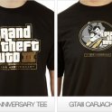 GTA III 10 Year Anniversary T-shirts
