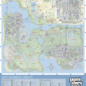 Grand Theft Auto San Andreas Map