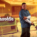Franklin with Glock