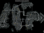 Random Pedestrian Locations Map
