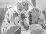 Niko Bellic Drawing By Ross Allen Sostre