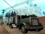 A Trucker in Angel Pine