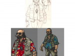 Character Sketches - Steve Scott