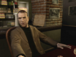 A man sitting at a bar