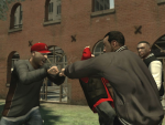 Double Knuckle Handshake