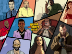 The History Of GTA 4:3 Desktop Wallpaper