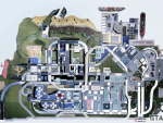 Grand Theft Auto III Map of Portland Island