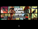 San Andreas Box Art Wallpaper