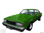 Green car render