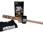 GTA III Anniversary Items: Figure, Shirt, Mug, Bat