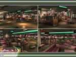 Bowling Alley Interior Shots