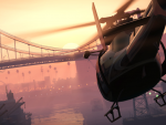 Flying through Port of Los Santos