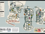 Liberty City Stories Map