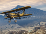 Cropduster flies near the Alamo Sea