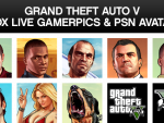 PSN & XBL GTA V Avatars