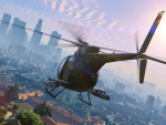 Buzzard over Los Santos