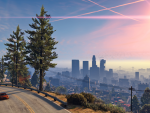 Los Santos afternoon skyline