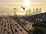 Evening commute in Los Santos