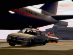 Airport Police Chase