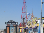 The historic Coney Island Parachute Drop