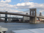 The Brookyln and Manhattan Bridges