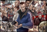 New Patrick Brown GTA IV Art