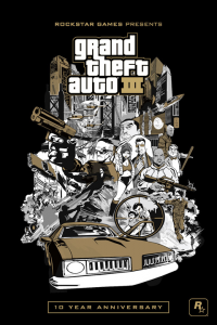 GTA III For Some Mobile Devices, Claude Action Fig