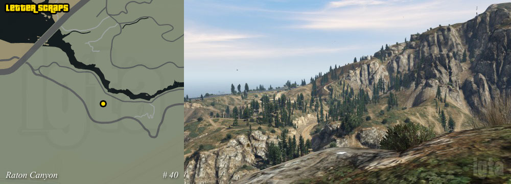 Gta  Letter Scrap Mount Chiliad Wilderness