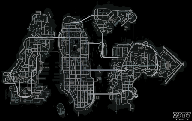 Large GTA4 Map