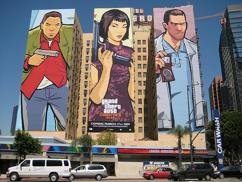 Huge GTA: Chinatown Wars Artwork