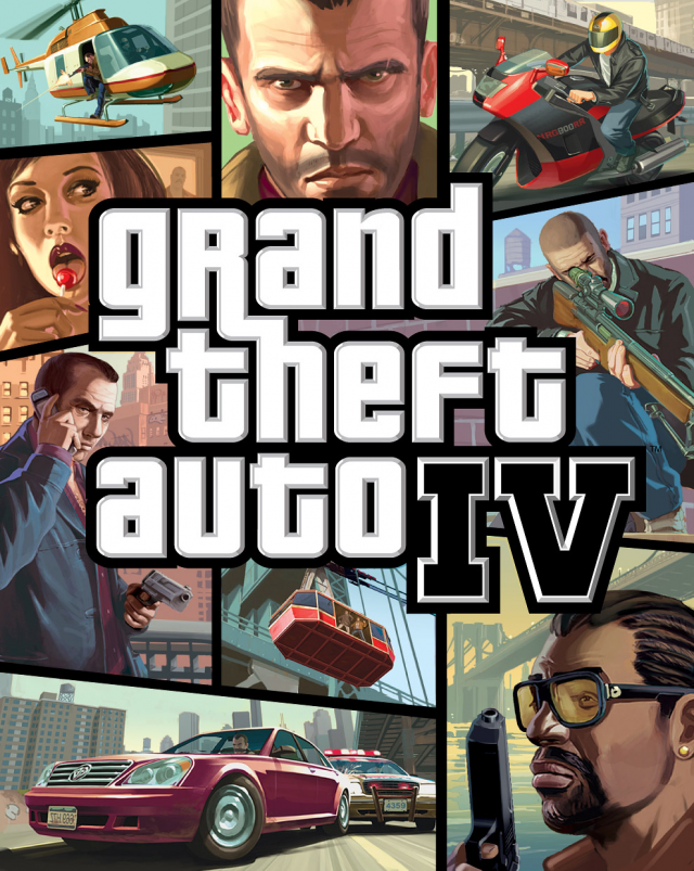 Official GTA4 Boxart