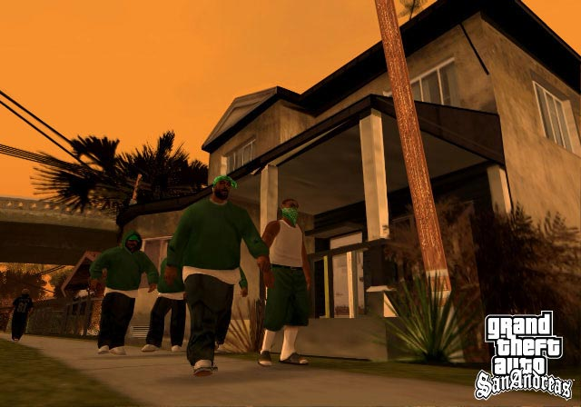 The Grove Street Gang