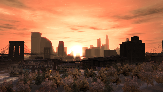 Liberty City's Skyline