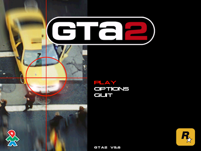 Grand Theft Auto 2 Title Screen