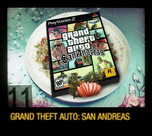 Official Boxart On A Plate