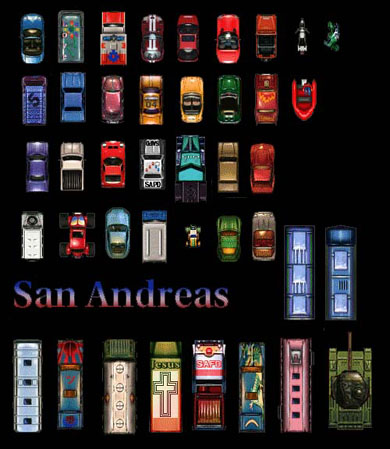 San Andreas Vehicles