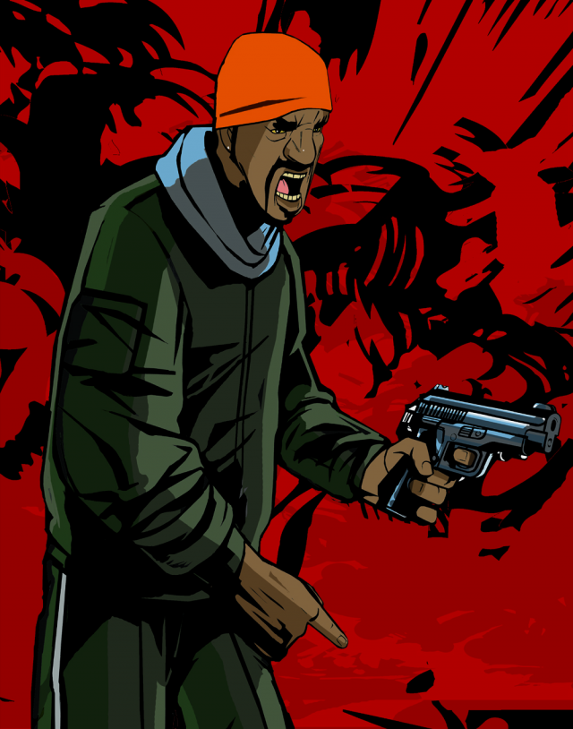 Yardie Character Artwork
