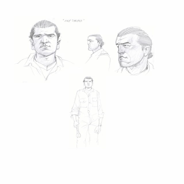 Character Sketches - Joey
