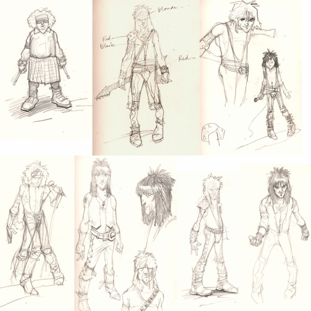 Character Sketches - Lovefist