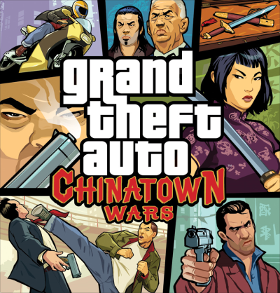 Chinatown Wars Box Artwork