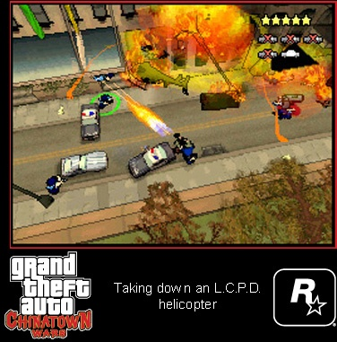 Taking Down An LCPD Heli