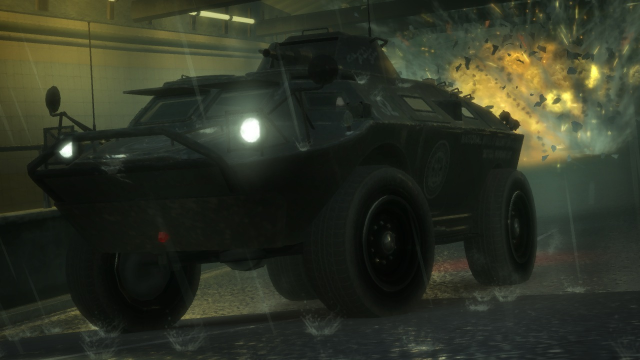 N.O.O.S.E Armored Personnel Carrier