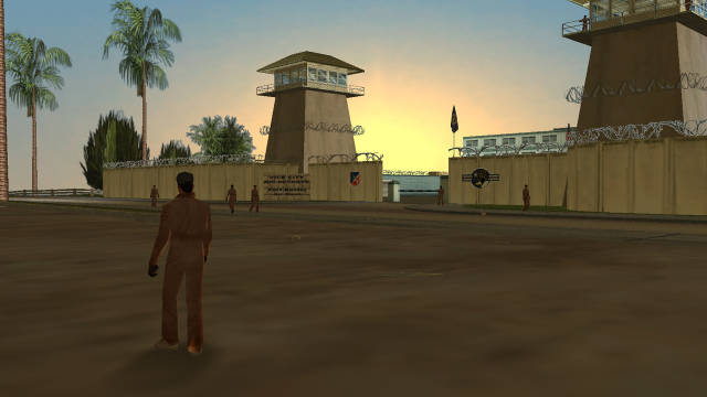 Fort Baxter Air Base, Vice City