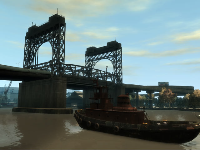 Boat & Bridge