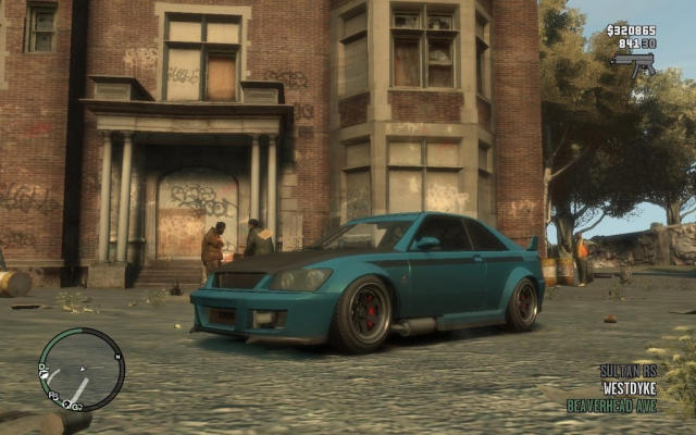 GTA IV Sultan RS
