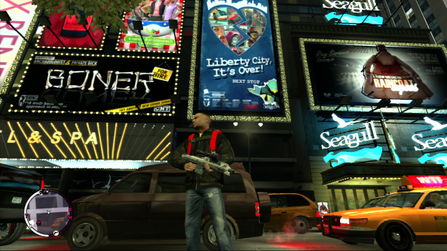 Liberty City, It's Over Poster - Seagull Theater