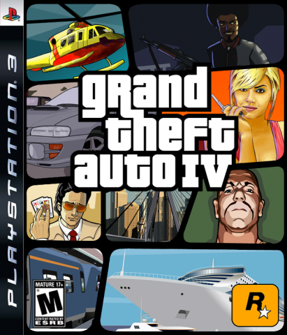 GTA IV Fake Boxart