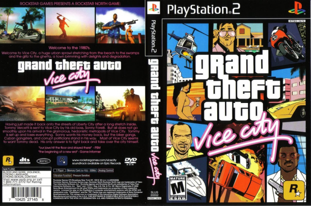 GTA Vice City Box