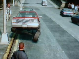 GTA IV glitch