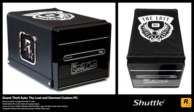 TLAD Shuttle Gaming PC